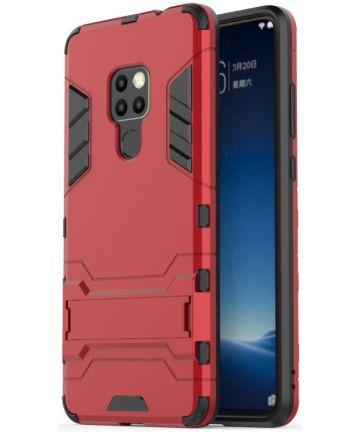 Huawei Mate 20 Hybride Kickstand Hoesje Rood Hoesjes