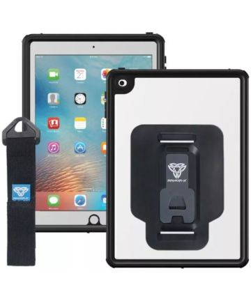 Armor X MX-Series iPad (2017/2018) Waterdicht Hoes Transparant Zwart