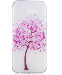 Samsung Galaxy J4 Plus TPU Hoesje Print Tree