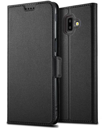 Samsung Galaxy J6 Plus Hoesje Kaarthouder Zwart