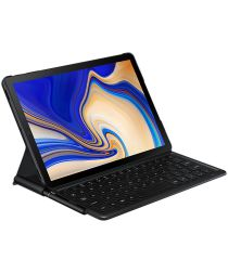 Samsung Galaxy Tab S4 Book Cover Keyboard Zwart
