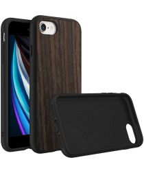 RhinoShield SolidSuit Black Oak iPhone SE 2020 Hoesje