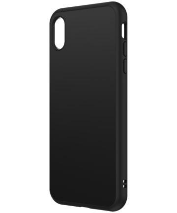 RhinoShield SolidSuit Classic iPhone XS Hoesje Zwart