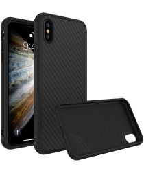 RhinoShield SolidSuit Carbon Fiber iPhone XS Hoesje