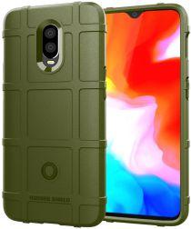 OnePlus 6T Anti-Shock TPU Backcover Groen