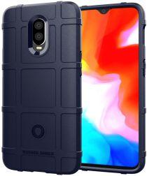 OnePlus 6T Anti-Shock TPU Backcover Blauw