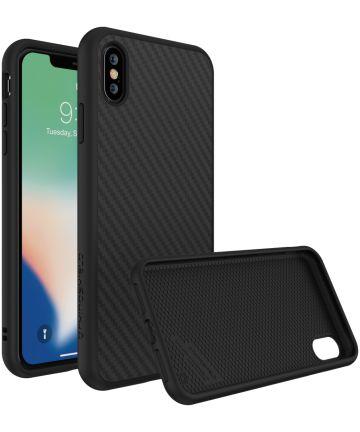 RhinoShield SolidSuit iPhone XS Max Hoesje Carbon Fiber Hoesjes