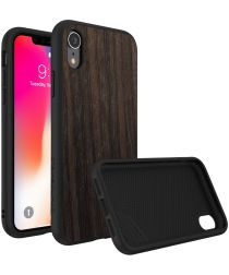 RhinoShield SolidSuit Black Oak iPhone XR Hoesje