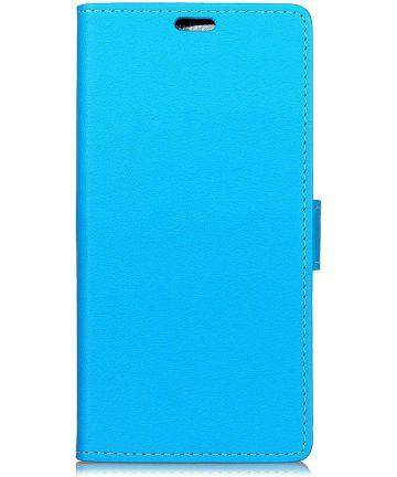 Motorola One Portemonnee Hoesje Blauw Hoesjes