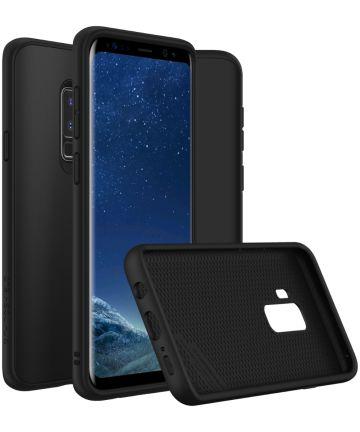 RhinoShield SolidSuit Classic Samsung Galaxy S9 Plus Hoesje Zwart Hoesjes