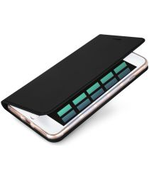 Dux Ducis iPhone 7 Plus / 8 Plus Bookcase Hoesje Zwart