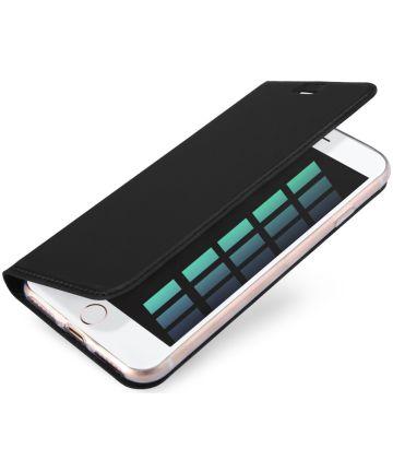 Dux Ducis Apple iPhone 7 / 8 Bookcase Hoesje Zwart
