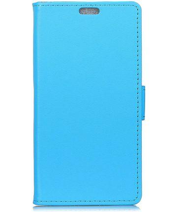 Samsung Galaxy A7 (2018) Portemonnee Hoesje Blauw Hoesjes