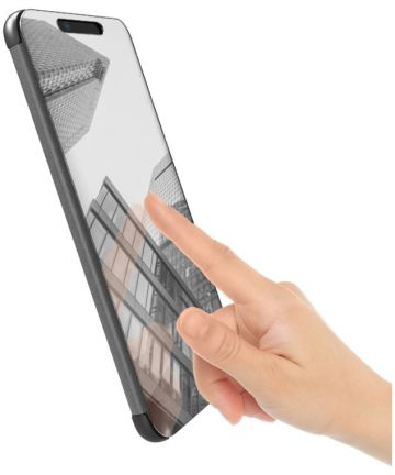 Huawei Mate 20 Spiegel Hoesje Zwart Hoesjes