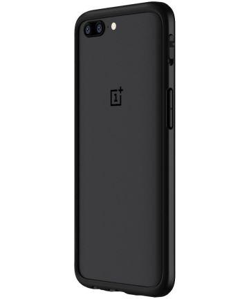 RhinoShield CrashGuard OnePlus 5 Bumper Hoesje Zwart Hoesjes