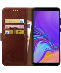 Rosso Element Samsung Galaxy A9 (2018) Hoesje Book Cover Bruin