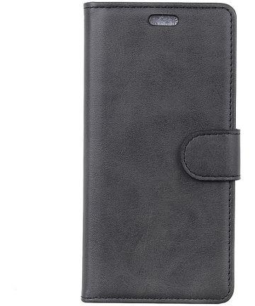 Sony Xperia 10 Portemonnee Hoesje Zwart Hoesjes
