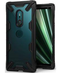 Ringke Fusion X Sony Xperia XZ3 Hoesje Doorzichtig Zwart