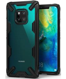 Ringke Fusion X Huawei Mate 20 Pro Hoesje Doorzichtig Zwart