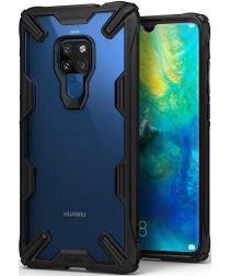 Ringke Fusion X Huawei Mate 20 Hoesje Doorzichtig Zwart