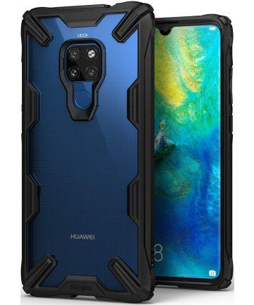 Ringke Fusion X Huawei Mate 20 Hoesje Doorzichtig Zwart Hoesjes