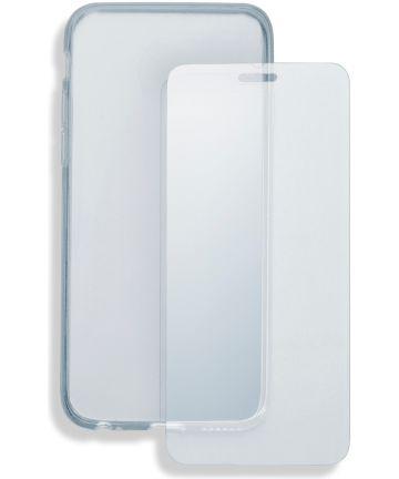 4smarts Tempered Glass en TPU Hoesje OnePlus 6T Transparant Hoesjes