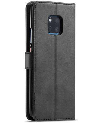 Huawei Mate 20 Pro Stand Portemonnee Bookcase Hoesje Zwart