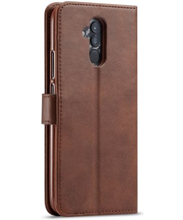 Huawei Mate 20 Lite Portemonnee Stand Bookcase Hoesje Coffee
