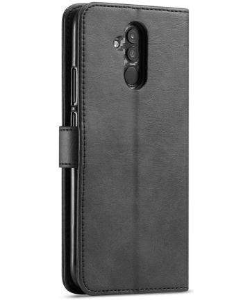 Huawei Mate 20 Lite Portemonnee Stand Hoesje Zwart Hoesjes