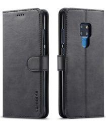 Huawei Mate 20 Stand Bookcase Portemonnee Hoesje Zwart