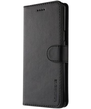 Samsung Galaxy S9 Book Case Portemonnee Hoesje Zwart