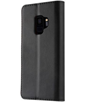 Samsung Galaxy S9 Book Case Portemonnee Hoesje Zwart Hoesjes