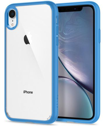 Spigen Crystal Hybrid Case Apple iPhone XR Blue Hoesjes