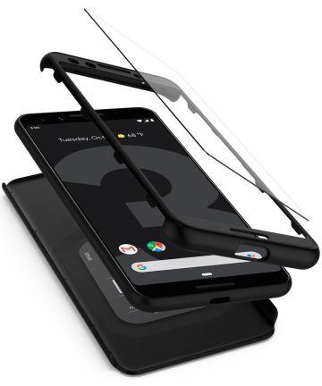 Spigen Thin Fit 360 Google Pixel 3 Zwart