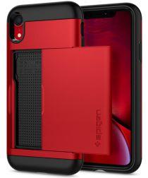 Spigen Slim Armor Hoesje Apple iPhone XR Red
