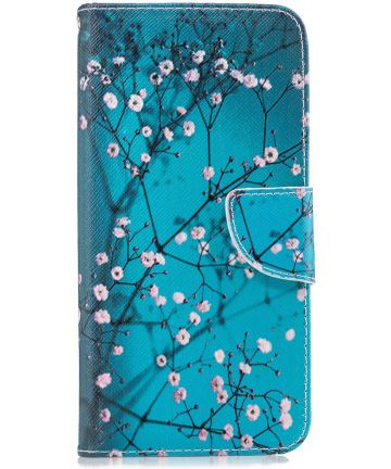 Samsung Galaxy J6 Plus Portemonnee Hoesje blossom
