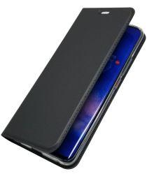 Huawei Mate 20 Pro Stijlvol Portemonnee Hoesje Zwart