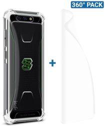 IMAK Xiaomi Black Shark Hoesje TPU met Screenprotector Transparant