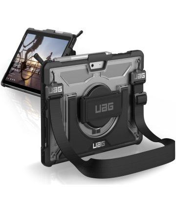 Urban Armor Gear Plasma Microsoft Surface Go Hoes met Schouderband Ice Hoesjes