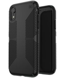 Speck Presidio Apple iPhone XR Hoesje Zwart Shockproof