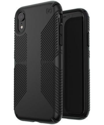 Speck Presidio Apple iPhone XR Hoesje Zwart Shockproof