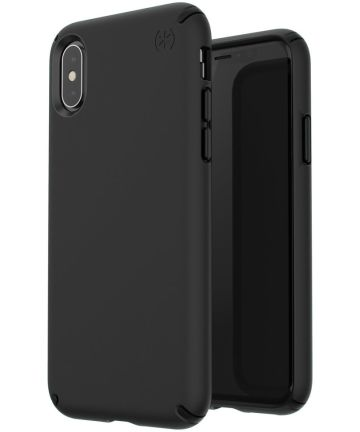 Speck Presidio Apple iPhone X/XS Hoesje Zwart Shockproof TPU