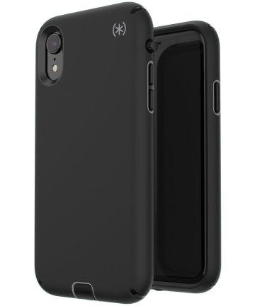 Speck Presidio Sport Apple iPhone XR Hoesje Zwart Shockproof