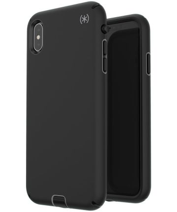 Speck Presidio Sport Apple iPhone XS Max Hoesje Zwart Shockproof