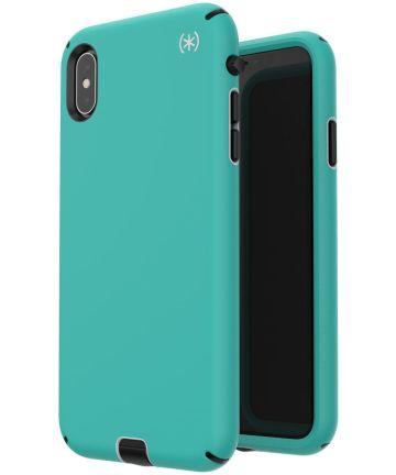 Speck Presidio Sport Apple iPhone XS Max Hoesje Blauw Shockproof Hoesjes