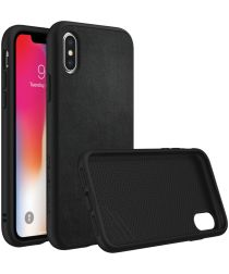 RhinoShield SolidSuit Leather iPhone X Hoesje