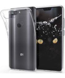 Xiaomi Mi 8 Lite TPU Hoesje Transparant