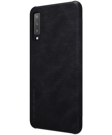 Nillkin Qin Series Flip Hoesje Samsung Galaxy A7 (2018) Zwart Hoesjes