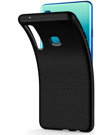 Spigen Liquid Air Samsung Galaxy A9 (2018) Matte Black Hoesjes