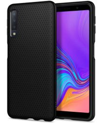 Spigen Liquid Air Samsung Galaxy A7 (2018) Matte Black